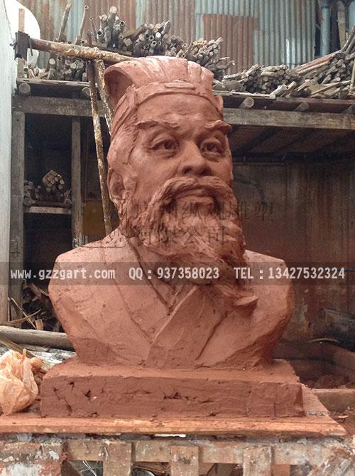 人物雕塑-古代科学家