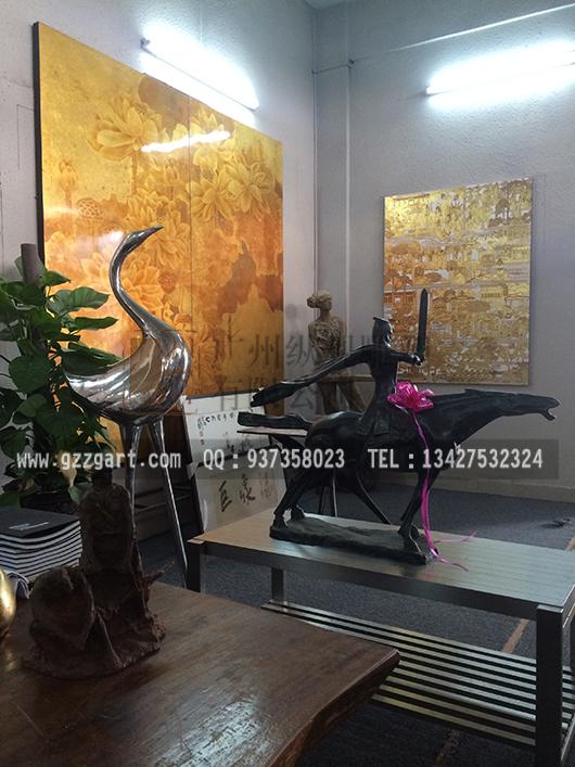公司雕塑展厅_广州雕塑工艺厂-雕塑设计制作公司